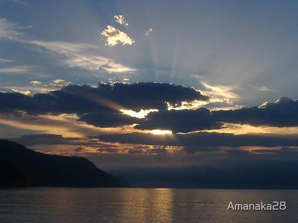 sunset by Amanaka28