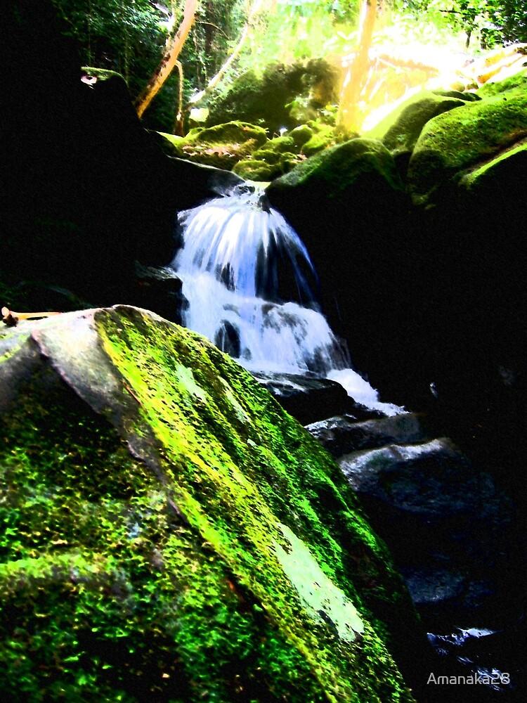 waterfall by Amanaka28