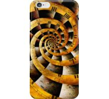 Steampunk - Clock - The flow of time iPhone Case/Skin