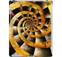 Steampunk - Clock - The flow of time iPad Case/Skin