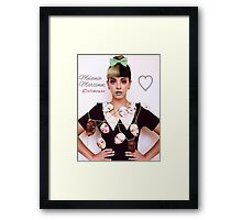 Melanie Martinez Dollhouse poster Framed Print