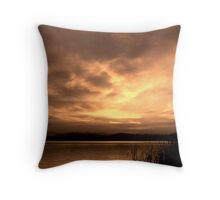 Sunset on Burley Griffin Throw Pillow