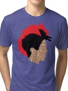 RU-FI-O! RU-FI-O! RU-FI-O! Tri-blend T-Shirt