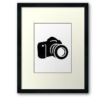 Photo reflex camera Framed Print