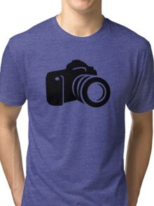 Photo reflex camera Tri-blend T-Shirt