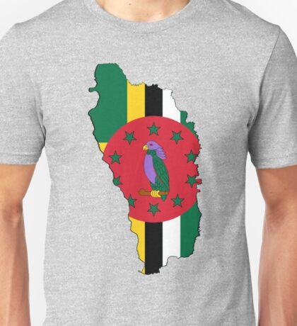 Dominica Nature Island Flag Shirt & More Unisex T-Shirt