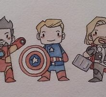 Biddy Avengers. by Obaith13