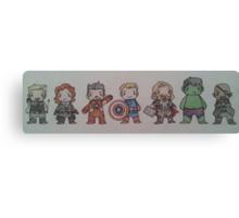 Biddy Avengers. Canvas Print