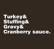 Thanksgiving Helvetica T-Shirt