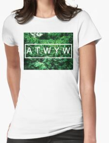 ATWYW - Trees Womens Fitted T-Shirt