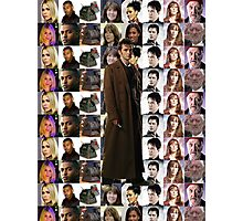 Tenth Doctor w/ Companions TWIN Duvet Cover and etc. Photographic Print