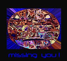 Missing You - Futuristic Card by zee1