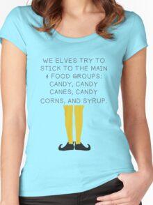 Elf Food Women's Fitted Scoop T-Shirt