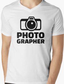 Photographer Mens V-Neck T-Shirt