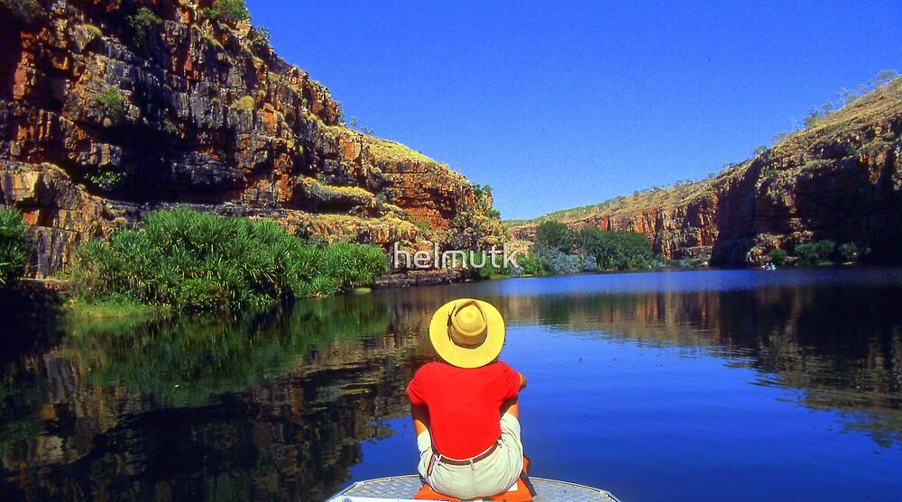 Chamberlain Gorge WA Australia by helmutk