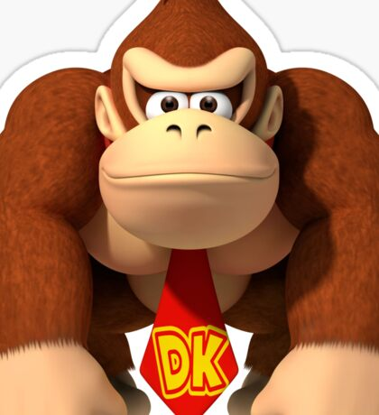 Donkey Kong Country Sticker