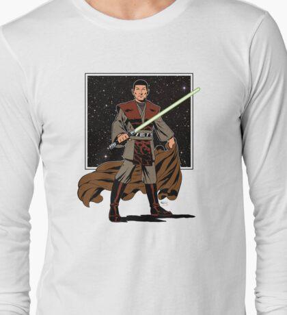 Pointy-Eared Space Samurai Long Sleeve T-Shirt