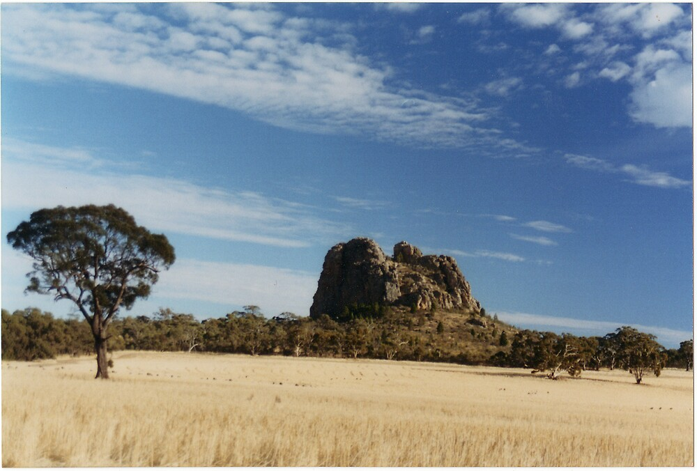 Mitre Rock by Mark Radford