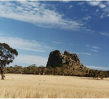 Mitre Rock by Mark Radford