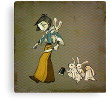 Kill Bunny - square Canvas Print