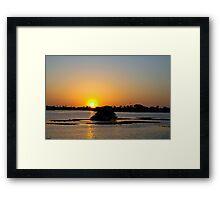 Perfect sky Framed Print
