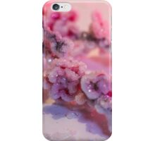 Pink Cherry Blossoms Crystallized  iPhone Case/Skin