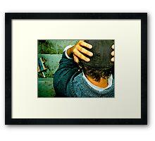 whelmed Framed Print