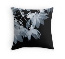 Turtle Black and Blue Throw Pillow