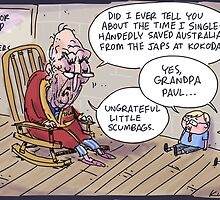 Keating returns! by Jon Kudelka
