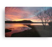 Firey sunrise  Metal Print