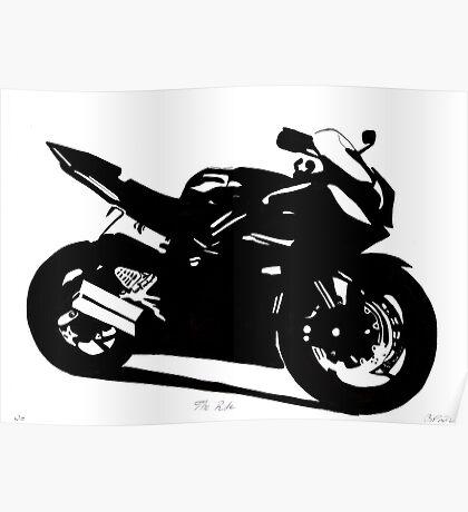 Yamaha R6 Pen & Ink Poster
