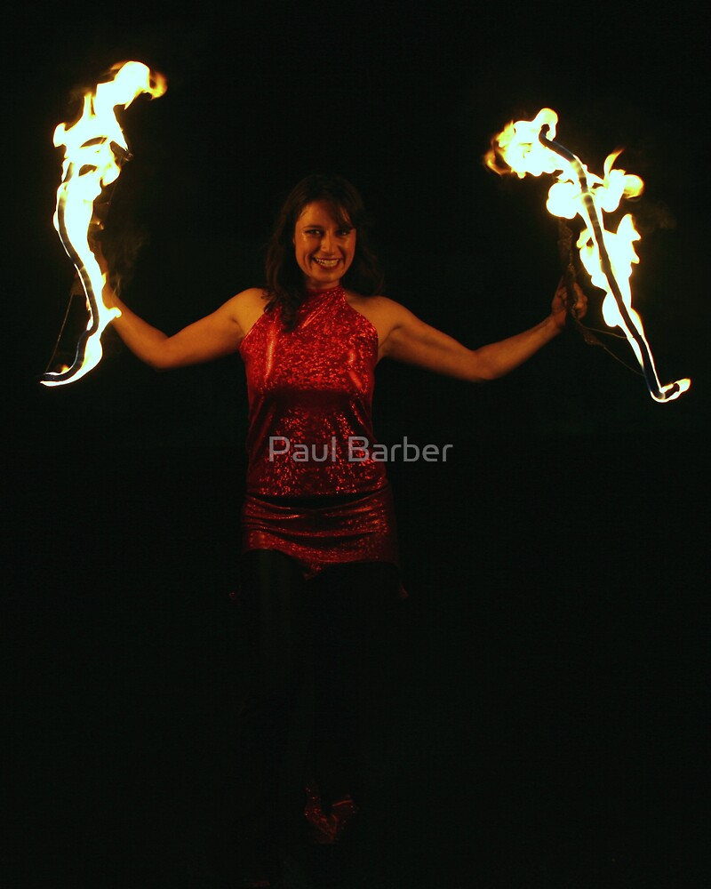 One Firey Lady by Paul Barber