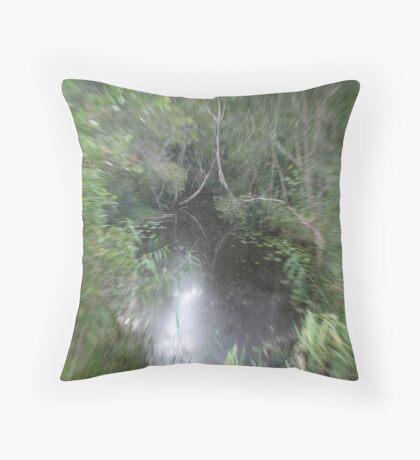 Sureal Creek Throw Pillow