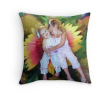 Hugs Throw Pillow