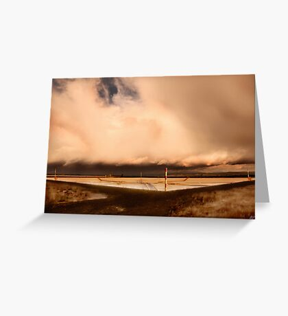 Purification Plant Greeting Card