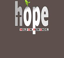 HOPE Christian T-Shirt | Hold On. Pain Ends. T-Shirt
