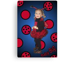 Baby Bug Canvas Print