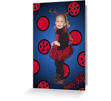 Baby Bug Greeting Card
