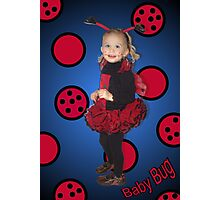 Baby Bug Photographic Print