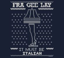 A Christmas Story, Fragile - It must be Italian One Piece - Short Sleeve