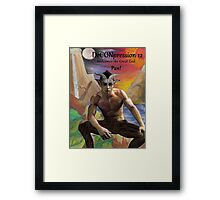 DeCONpression 12 Welcomes Pan Framed Print