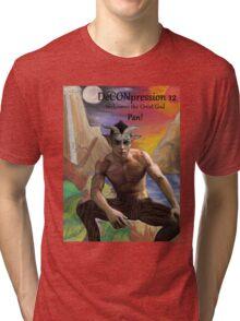 DeCONpression 12 Welcomes Pan Tri-blend T-Shirt