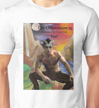 DeCONpression 12 Welcomes Pan Unisex T-Shirt