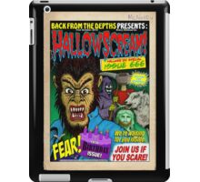 Hallowscream! 2014 Front Cover (official) iPad Case/Skin