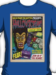 Hallowscream! 2014 Front Cover (official) T-Shirt