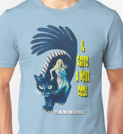 Il Gatto a Nove Code Unisex T-Shirt