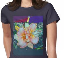 Day lily splendor Womens Fitted T-Shirt