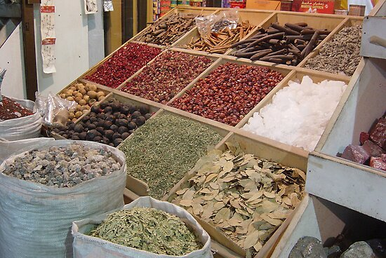spice market in Dubai by Helen French