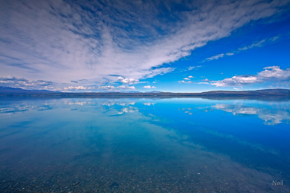 Pukaki Blue by Neil
