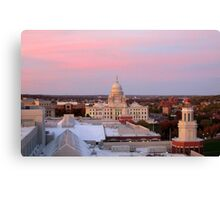 Providence at Sunset Canvas Print